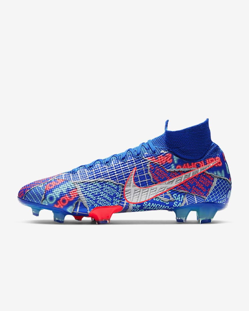 Calzado De Futbol Para Terreno Firme Mercurial Superfly 7 Elite Se11 Sancho Fg 8wzh5m In 2020 Sport Shoes Nike Shoes