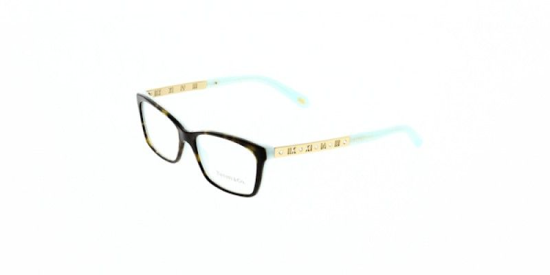 584ec0fa23a1 Tiffany   Co. Glasses TF2103B 8134 53 is a havana frame and is designed for  women. It is a medium style with a 53mm lens diameter.