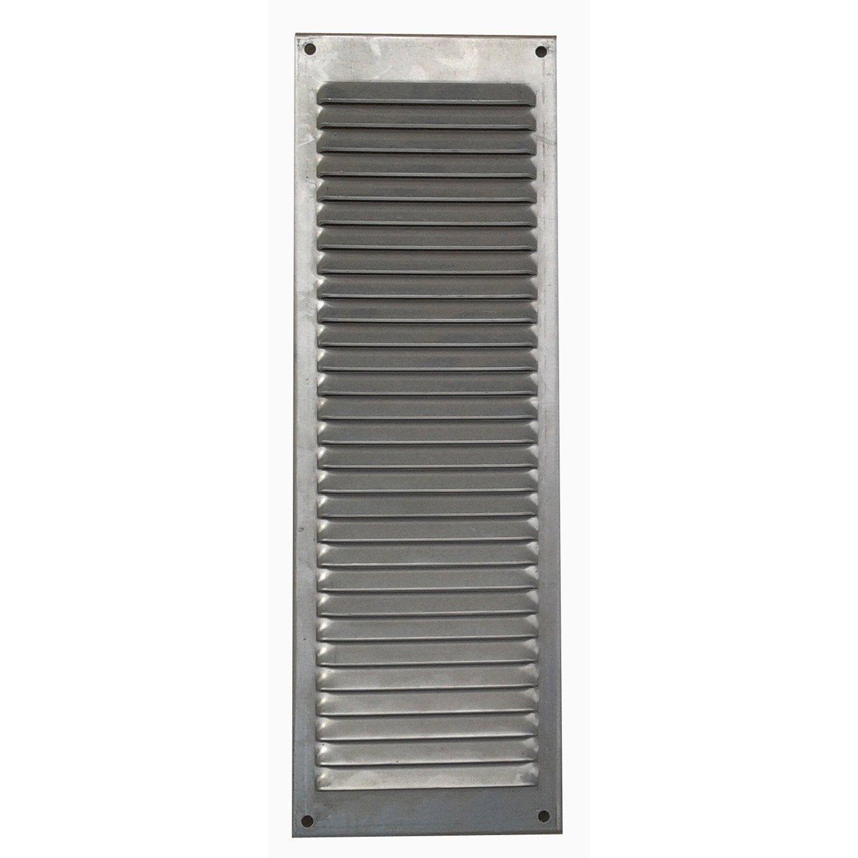 Grille D Aeration Aluminium Anodise L 30 X L 10 Cm Ferreteria Y Prensas Aeration Grille Et Produits