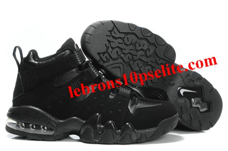 new concept 4a82d c1b50 Charles Barkley Shoes - Nike Air Max2 CB 94 Black