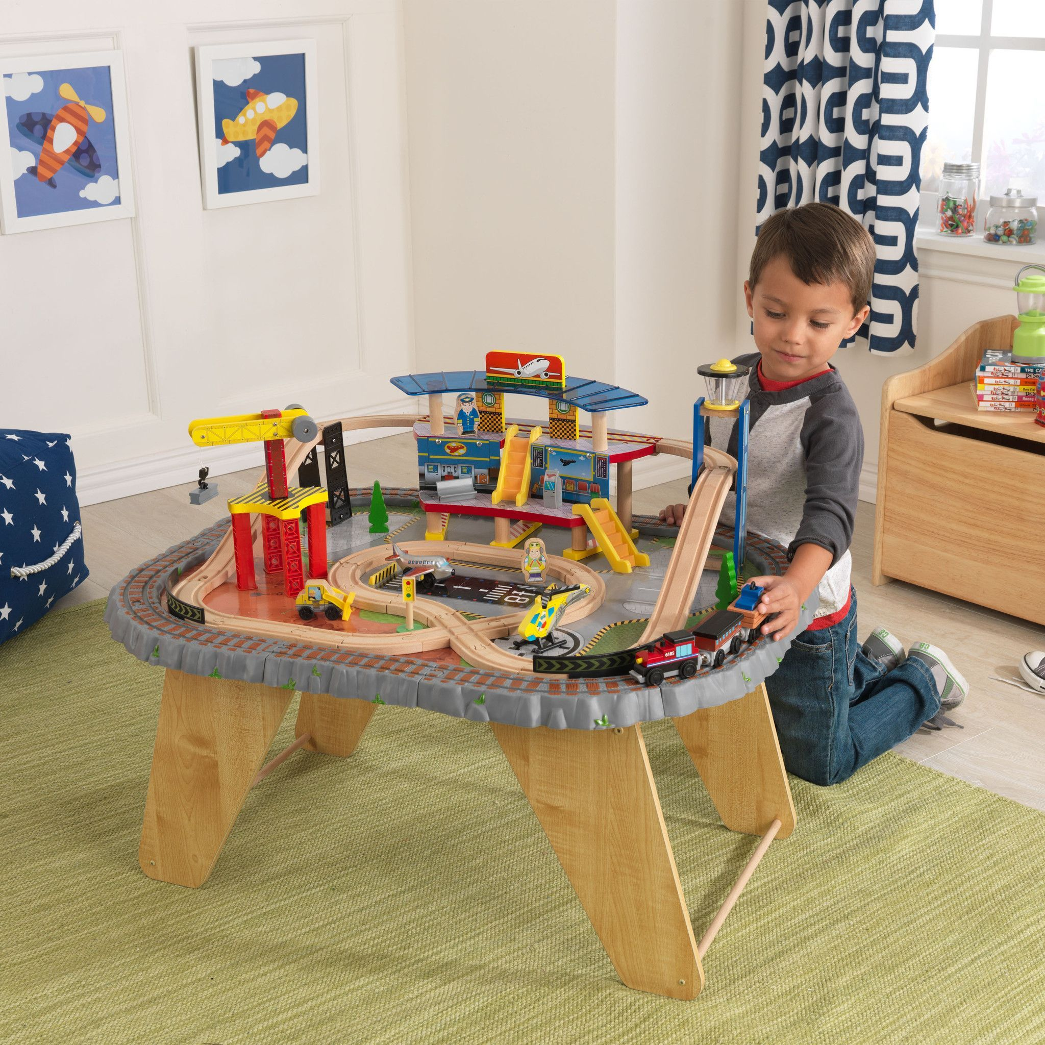 ride and for town breathtaking awesome kidkraft of set table sale around images best train tables amazing with