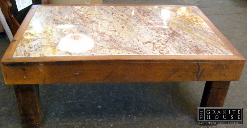 Off Cuts Coffee Table #Granite