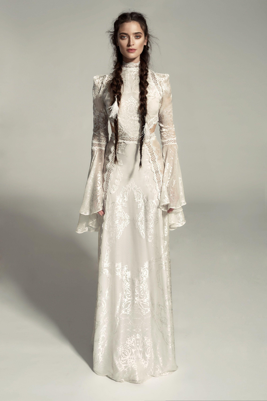 "Meital Zano 2017 ""Great Victoria"" Gown Victorian wedding"