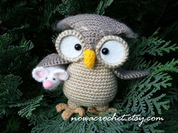Owl Henriette  amigurumi PDF crochet pattern by Nowacrochet, $7.20