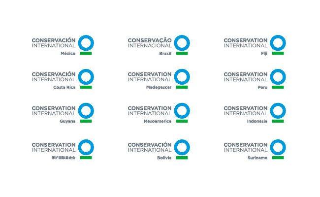 Conservation international sub identity brand for International decor brands
