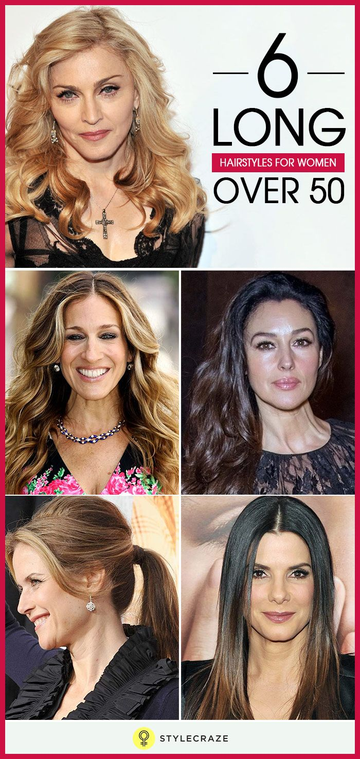 Try Different Hairstyles Interesting 6 Long Hairstyles For Women Over 50  Long Hair Styles Hair Style