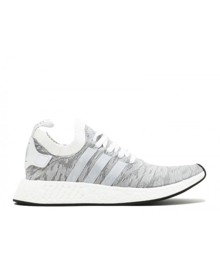 Chaussure Adidas Nmd R2 Pk By9410 Correndo Blanche / Running Blanchehe