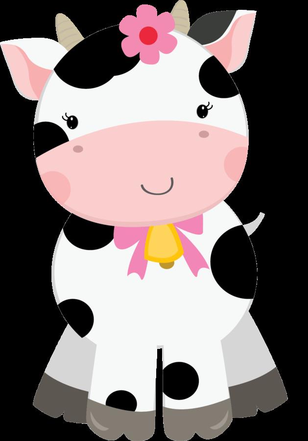 Cute Baby Cow Clipart