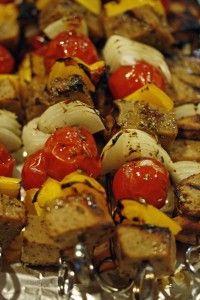 Seitan Souvlaki - this is THE BEST seitan recipe I've ever tried!