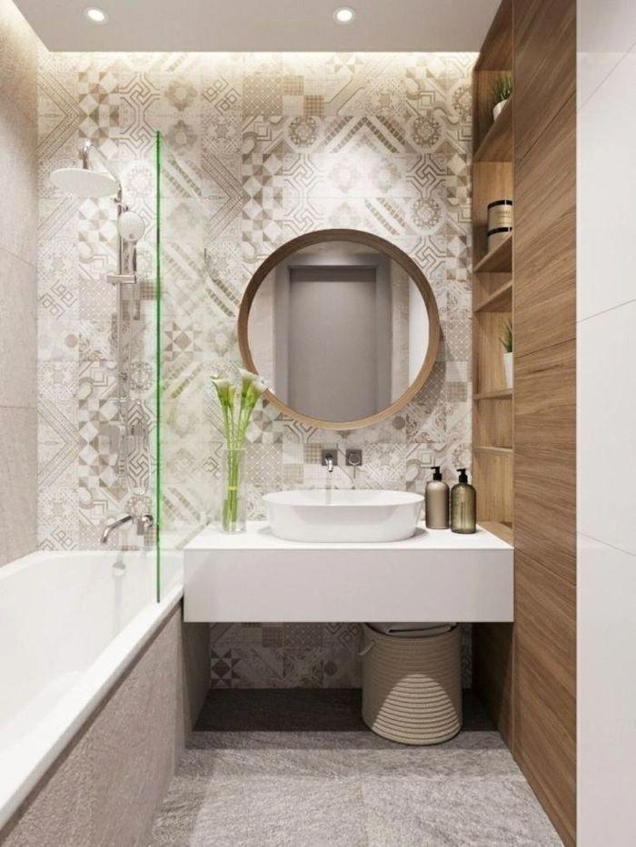 36 Awesome Small Bathroom Ideas For Apartment Decorating 16 Lingoistica Com Bathroom Design Small Small Bathroom Bathroom Interior Design