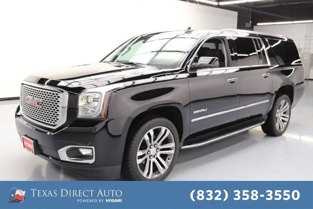 For Sale 2017 Gmc Yukon Denali Texas Direct Auto 2017 Denali Used 6 2l V8 16v Automatic 4wd Suv Bose With Images Gmc Yukon Gmc Yukon Denali