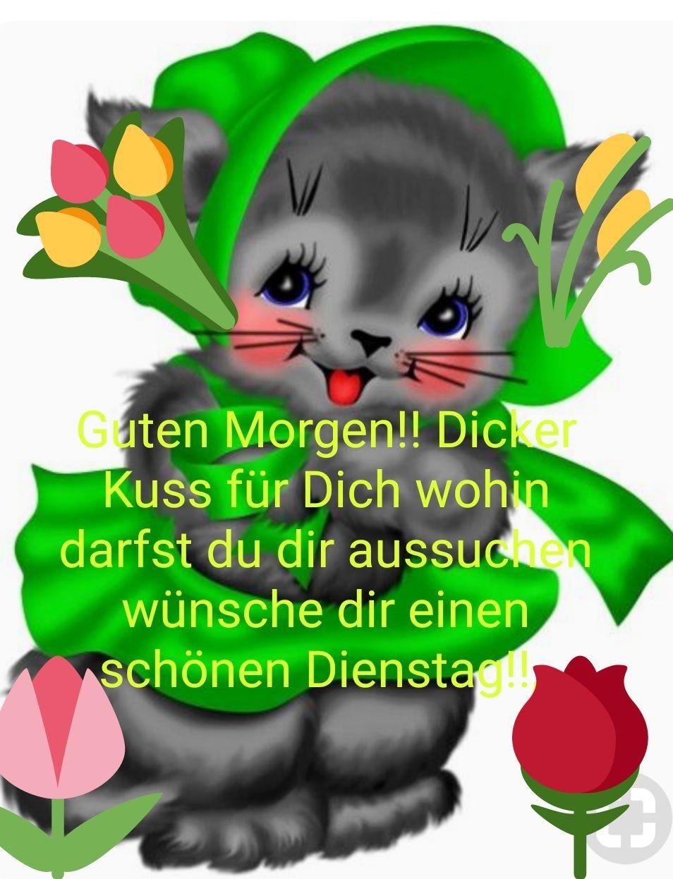 Guten morgen von Birgit Linke auf Guten Morgen | Guten ...