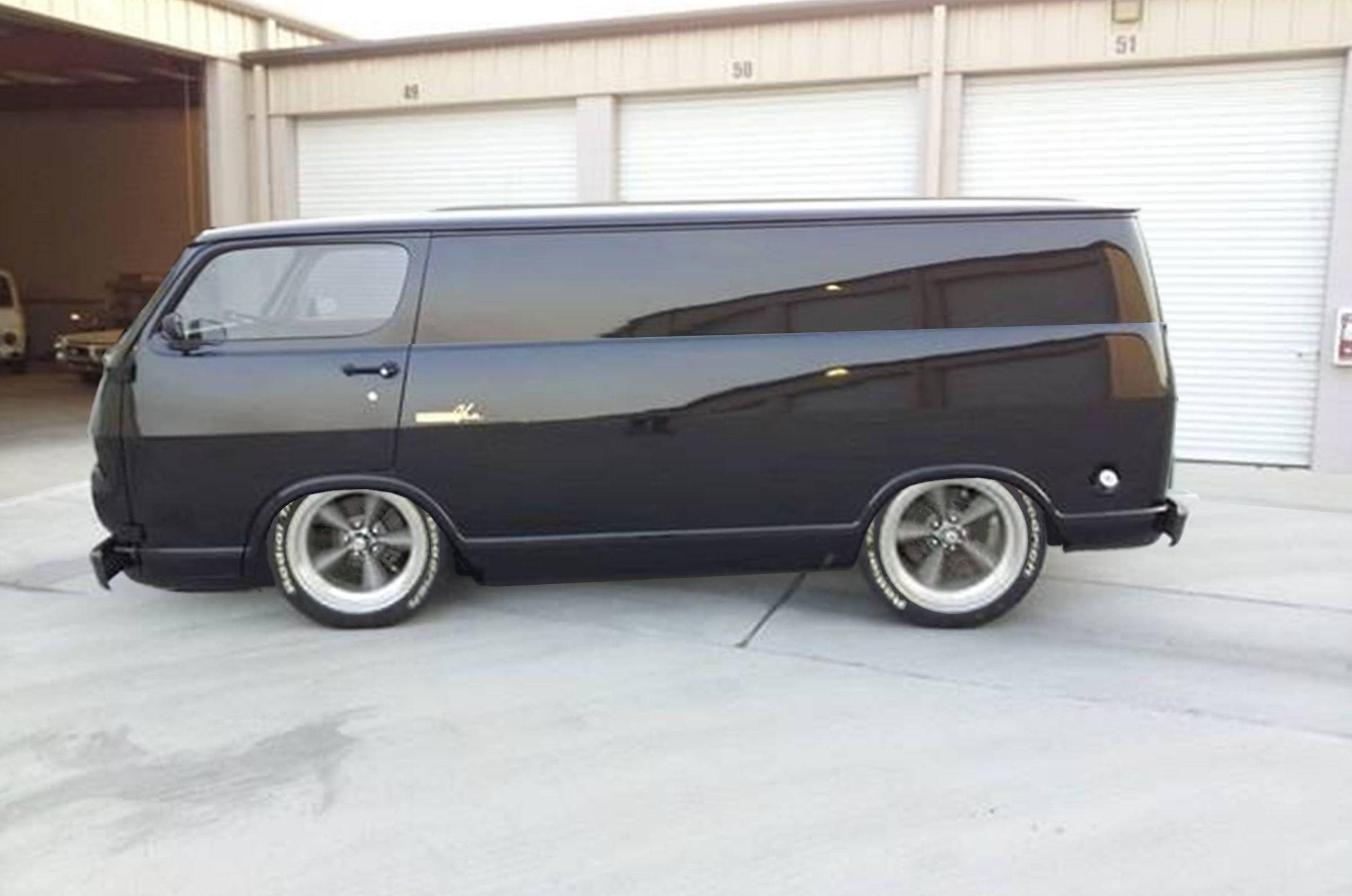Chevy Van Chop Top Vans Pinterest
