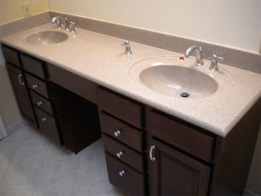 Attractive Bathroom With Double Sink Vanities Double Vanity