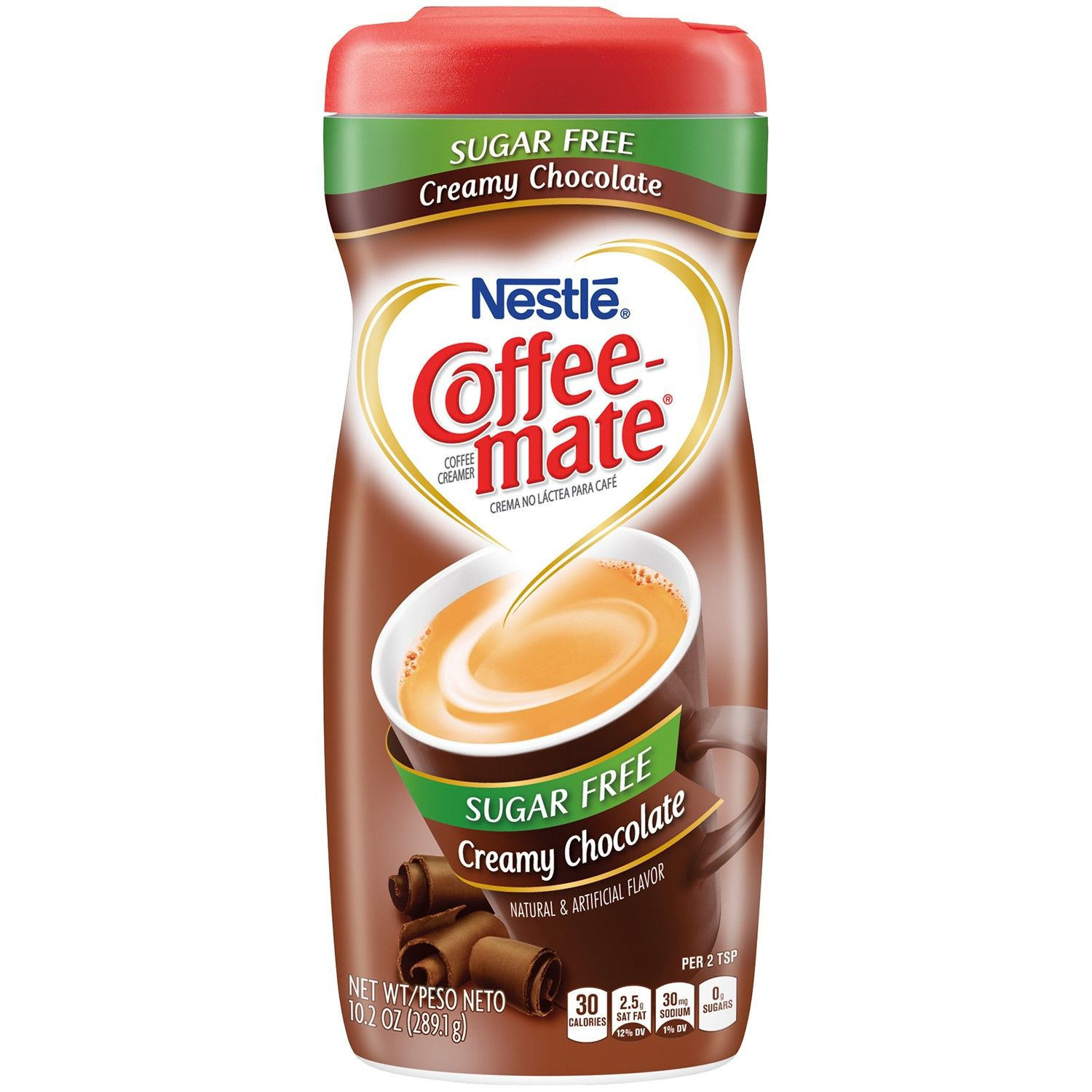 Coffee Mate Powder Coffee Creamer Sugar Free Creamy Chocolate