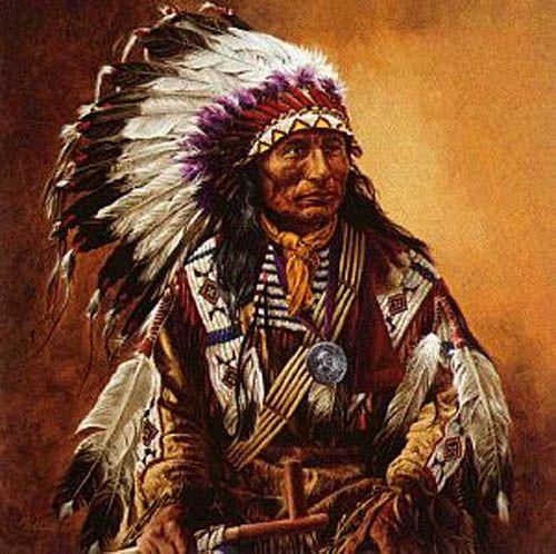 Native American Indian Riding Horse Bronze Sculpture