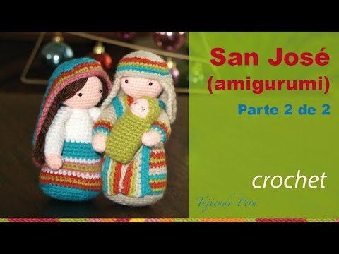 Tejiendoperu Crochet Amigurumis : San josé tejido a crochet amigurumi tejiendo perú nativity