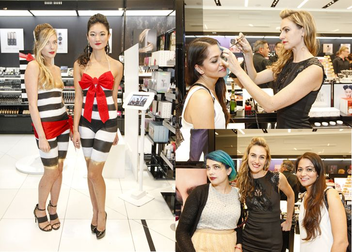 2d8b26600 Sephora airbrush and body paint event in San Francisco + professional body  painter Audette Sophia
