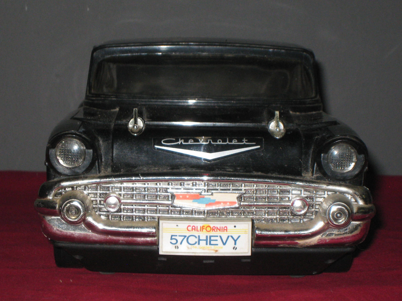 57 Chevy Vhs Rewinder Vintage 57 Chevy Replica Black Chrome 57 Etsy Vintage Videos Chevy Vintage