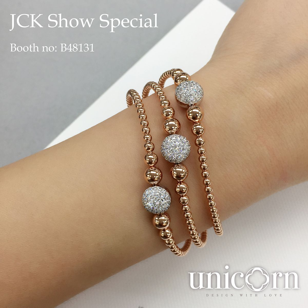 Unicorn Jewelry Design Co Ltd Booth NoB48131 FineJewelry JCK