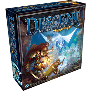 Descent Journeys in the Dark 2nd Edition Board games