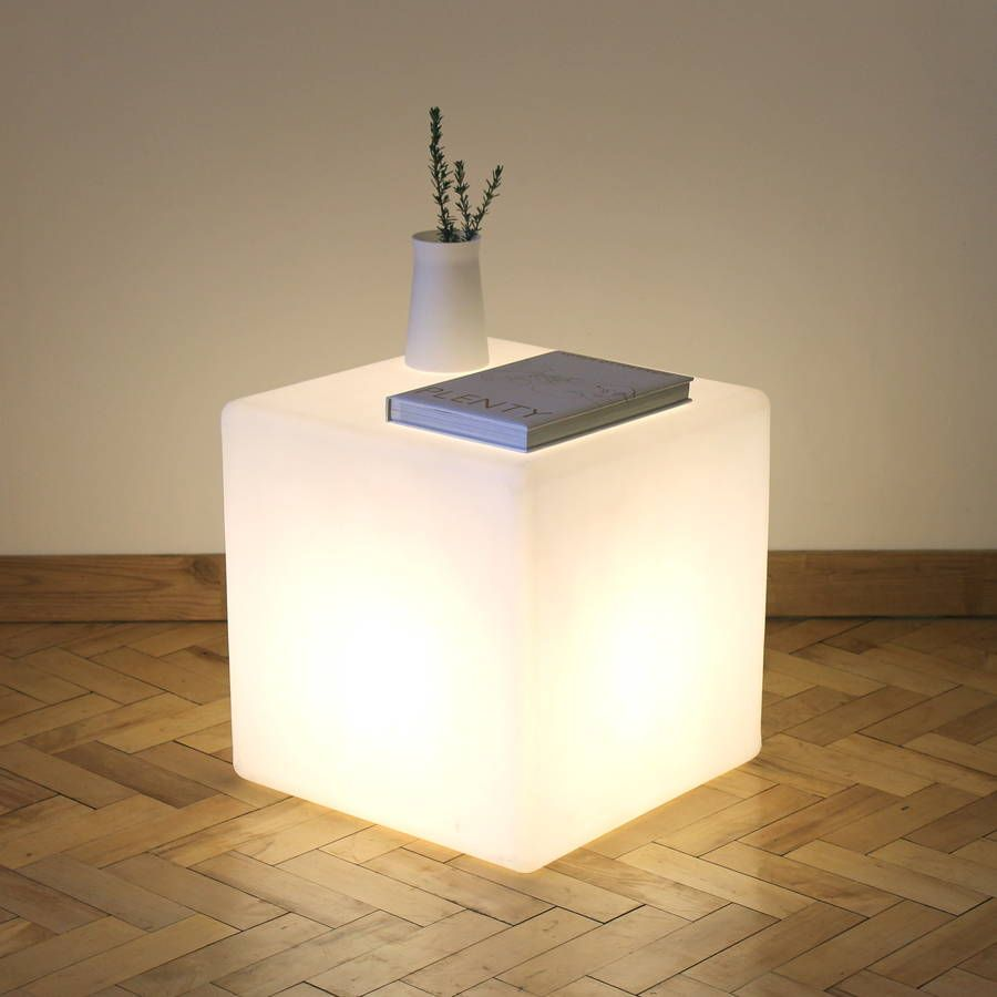 Are You Interested In Our Nice Cube Light Table Floor Lamp With Contemporary Lighting Seat Design Need Look No Further