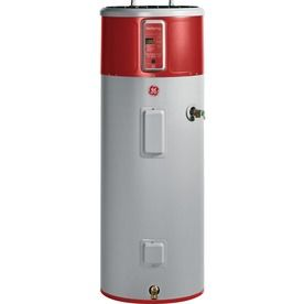 Ge Geospring 50 Gallon 120 Month Hybrid Heat Pump Water Heater Energy Star Hybrid Water Heaters Heat Pump Water Heater