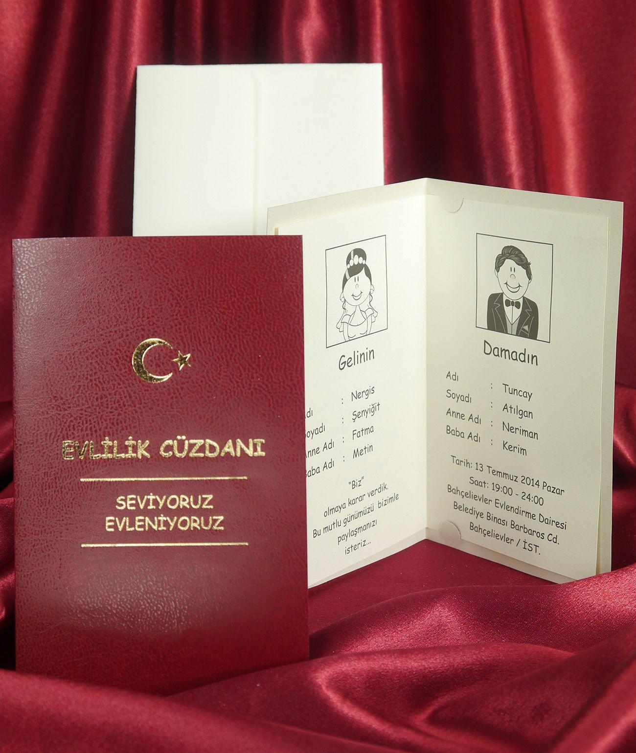 Wedding invitation cards 5329 Sedef Düğün davetiyesi www.sedefcards ...