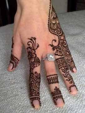 best Pakistani finger mehndi latest finger mehndi designs 2017 new styles for hands