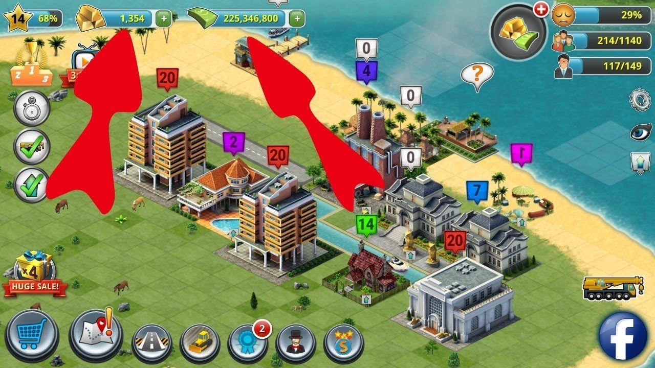 Pin On City Island 3 Cheats