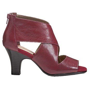 Red leather shoes, Famous footwear