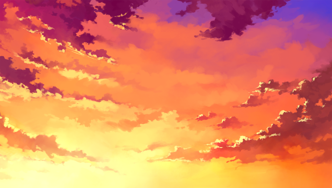 Sky (Anime Background) Sky anime, Anime background