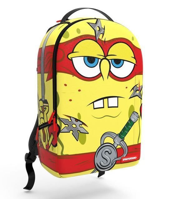 Sprayground Spongebob Age Mutant Ninja Turtle Tmnt Backpack Laptop Book Bag In Clothing Shoes Accessories Uni Accs
