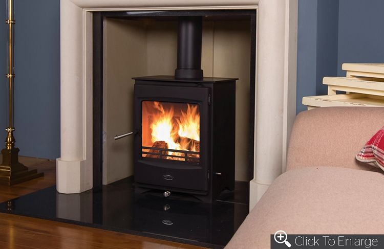 Henley Lincoln 5 Defra Roved Multi Fuel Wood Burning Stove