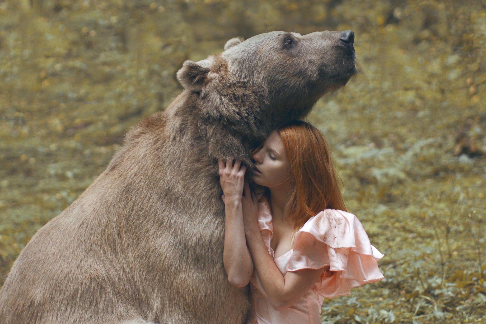 Photograph Untitled By Katerina Plotnikova On Px Fantasy - Russian photographer takes enchanting fairytale photos featuring wild animals