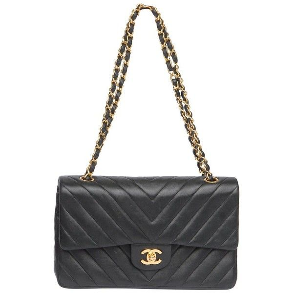 Chanel Vintage Leather Quilted Bag With