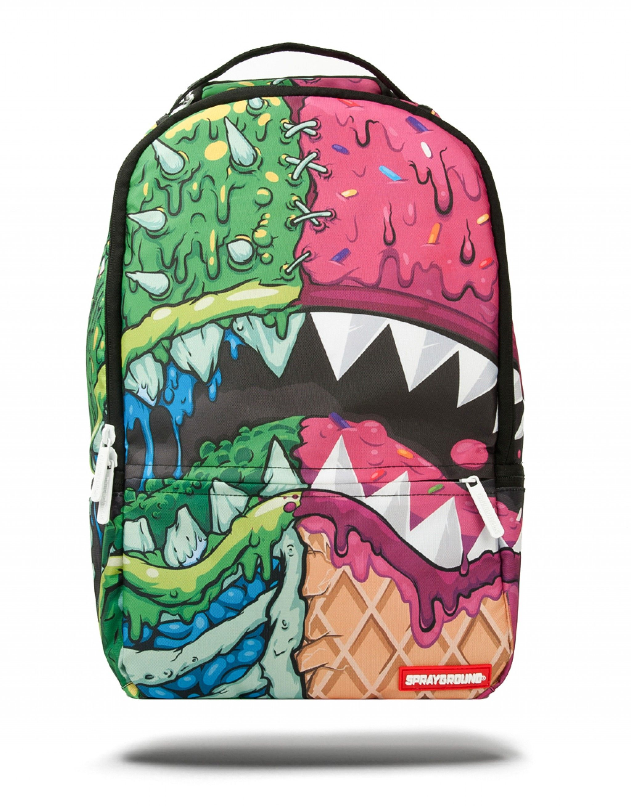 ZOMBIE ICE CREAM SHARK | Sprayground Backpacks,