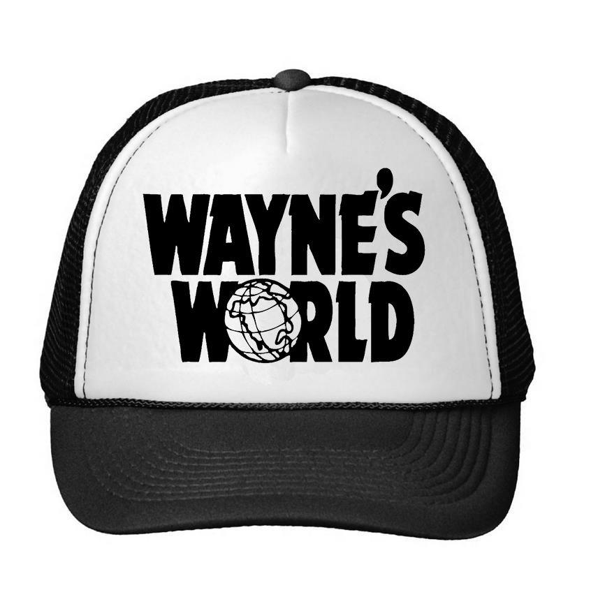 fb9537ecbf1 WAYNE S WORLD Print Baseball Cap Trucker Hat For Women Men Unisex Mesh  Adjustable Size Black Drop Ship M-108