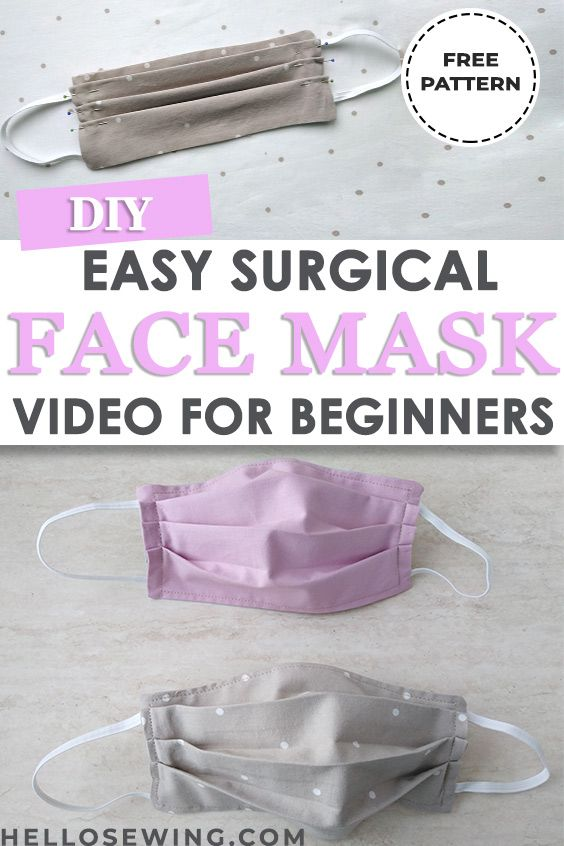Photo of mask in half, then press. Second, open the half and fold the top edge and the bo…