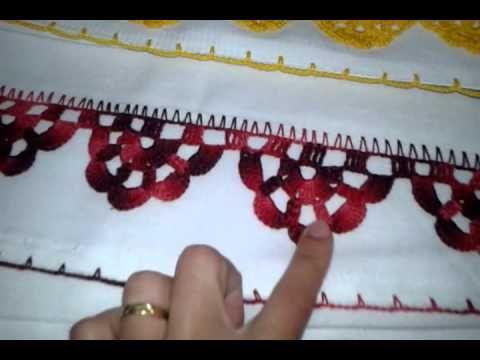Bico Em Croche Para Pano De Prato Facil Modelo 48 Youtube Com