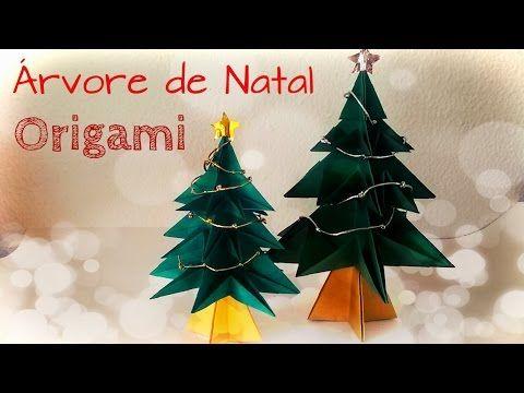 Passo a Passo Árvore de Natal em Origami - Christmas Tree