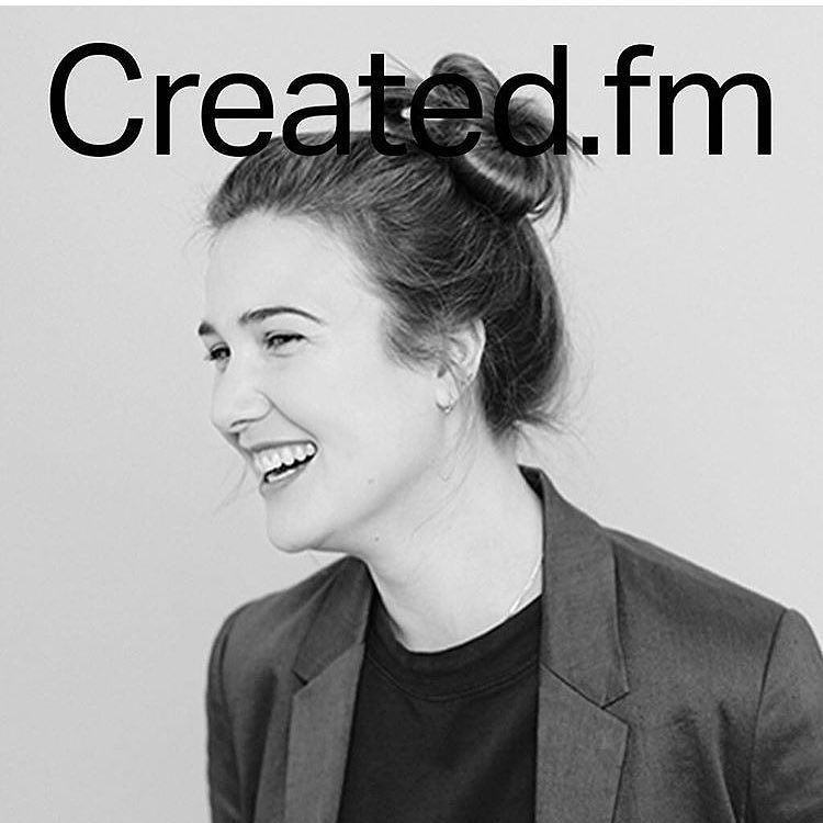 Lovely interview by @jimrali for @createdpodcast go take a listen at created.fm #aliceblogg