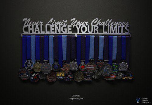 Medals Stainless Steel Holder Display Rack Sport Running Medal Hanger Race