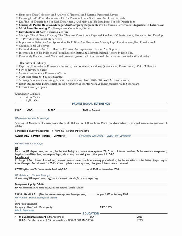 Team Lead Job Description Resume Luxury Resume Hr Manage