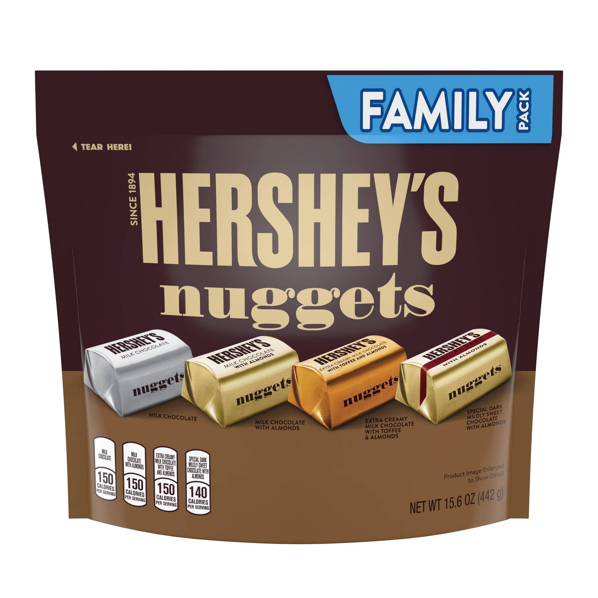 Hershey S Nuggets Family Size Assorted Chocolates 15 6oz