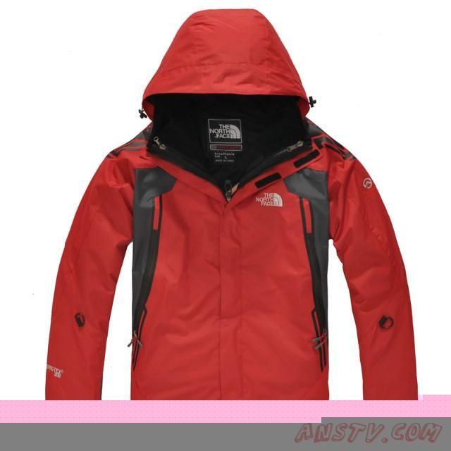 plus de photos 6040c 98e70 Blouson hiver The North Face Sale Gore Tex Hommes Rouge ...