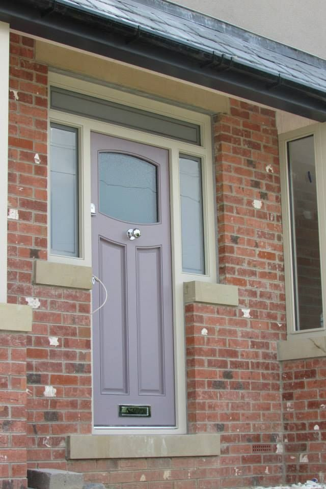 How My Actual Front Door Turned Out Farrow And Ball Brica Made By Croxfords Joinery In Meltham Huddersfield