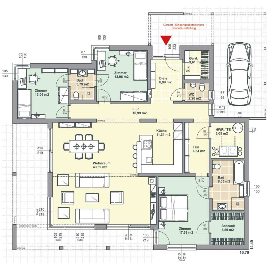 Dream House Plans, House