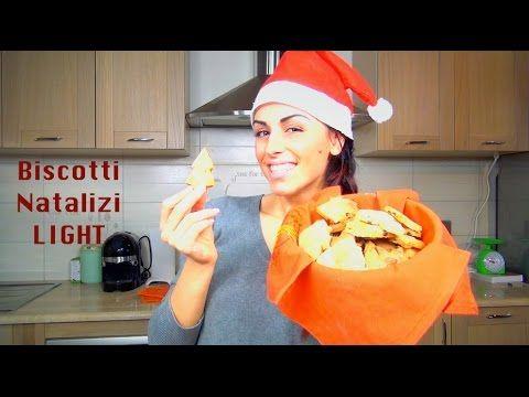 Biscotti Natalizi LIGHT | #MyKitchenLab | mikeligna - YouTube