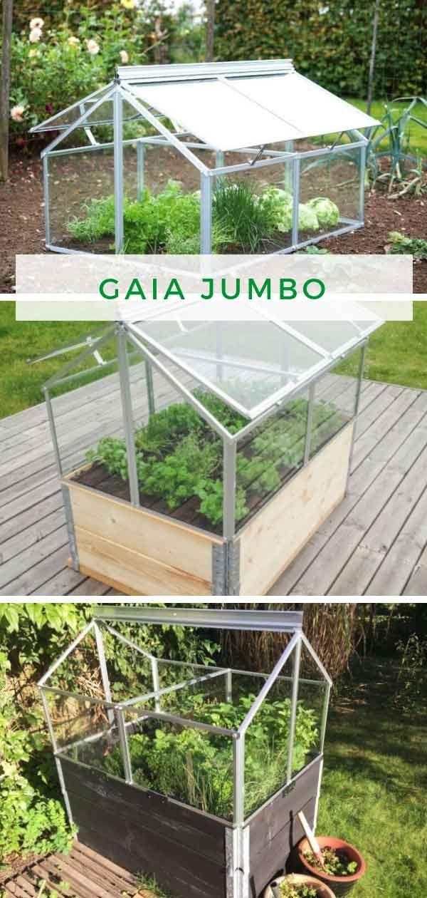 Gaia Jumbo ESG (mit Bildern) Frühbeet bauen, Haus und